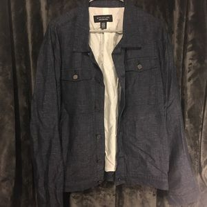 Structure collection Sears brand navy blue jacket
